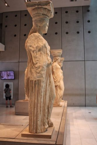 Porch of Maidens New Acropolis Museum Athens Greece