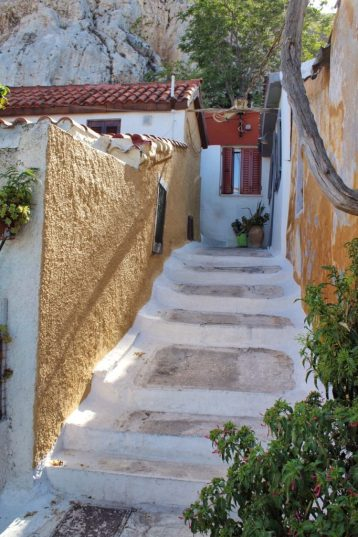 Anafiotika neighborhood Athens Greece Rick Steves