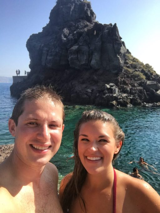 Lauryn and Eric at Amoudi Bay