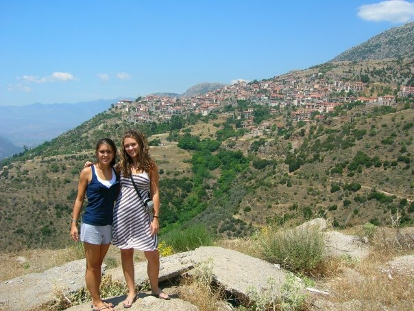 Delphi Greece in 2006