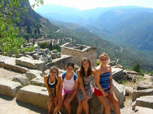 Delphi, Greece July 2006