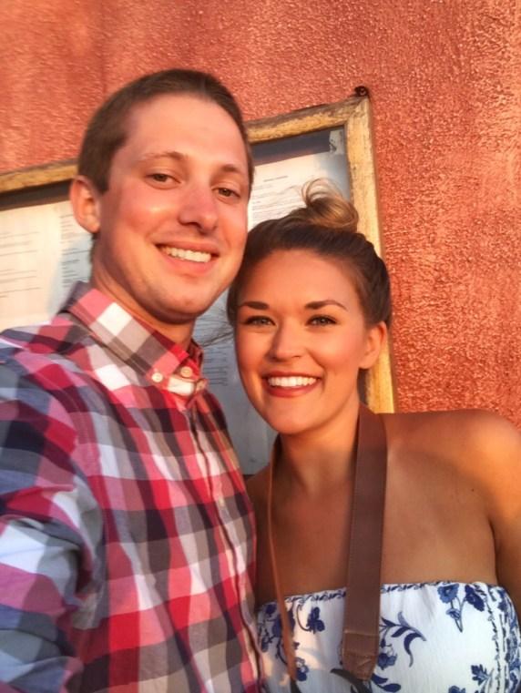 Lauryn and Eric - Santorini Sunset