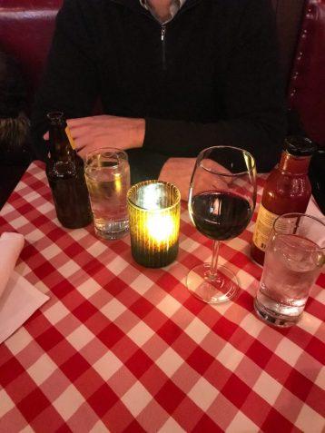 Dinner at PJ Clarke's in New York City