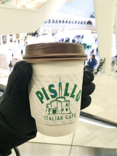 Coffee from Pisillo in New York City