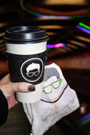 Coffee from Gregory's Coffee in New York City