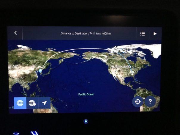 Our crazy flight path