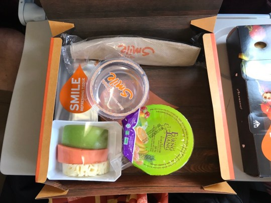 Meal on Thai Smile Flight