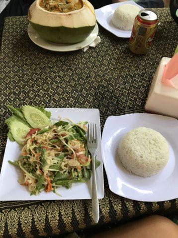 Cambodia lunch