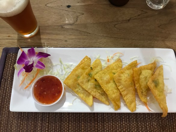 Food at Ugo Restaurant Chiang Mai Old City Thailand