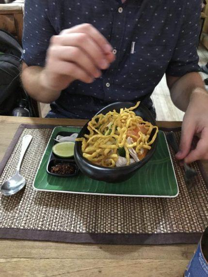 Khao Soi at Ugo Restaurant Chiang Mai Old City Thailand
