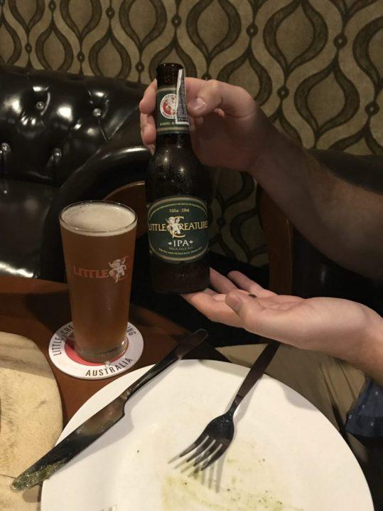 Beer at Flight 52 in Chiang Mai Thailand