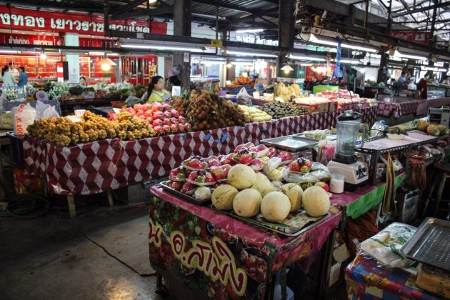 Local market in Chiang Mai
