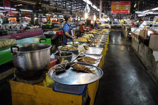 The local market in Chiang Mai