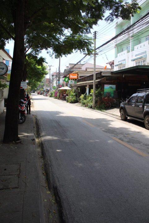 Street near Chiang Mai Gate Chiang Mai Old City