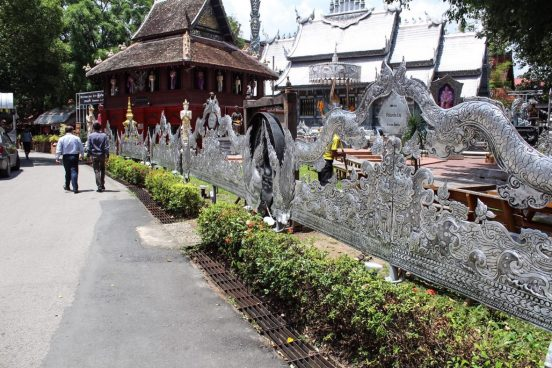 Wat Sri Supan the silver temple in Chiang Mai Thailand