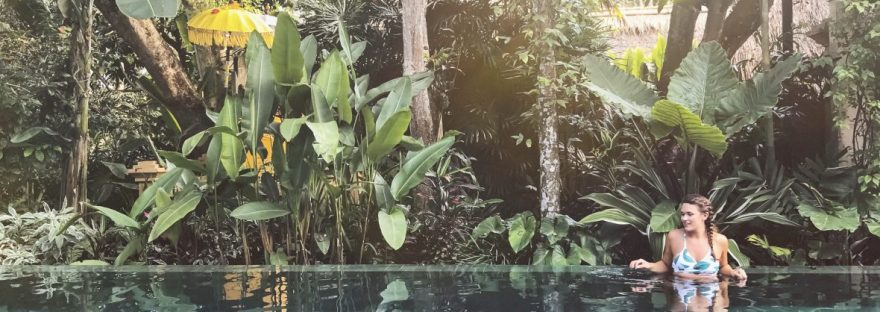 Pool at Komaneka Monkey Forest Ubud Bali