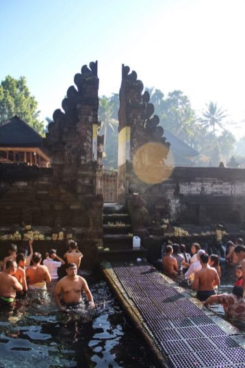 Holy Springs at Tirta Empul Ubud Bali
