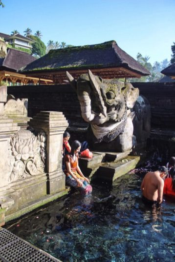 Holy Springs at Tirta Empul Ubud Bali