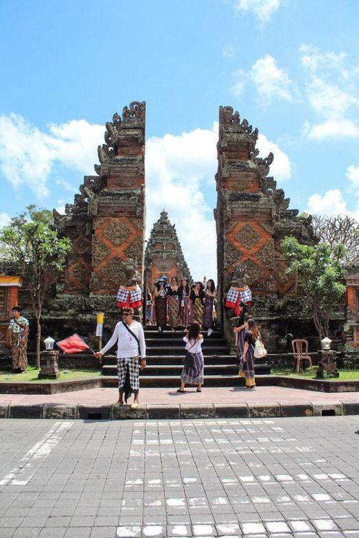Entrance to Batuan Temple Ubud Bali