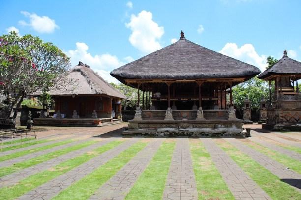 Inside Batuan Temple Ubud Bali