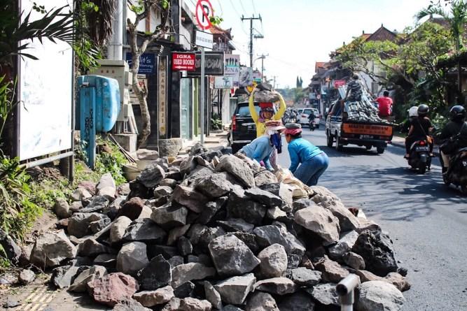 Ladies working in Ubud, Bali