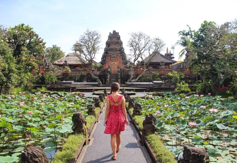 Saraswati Temple Ubud, Bali