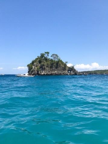 The second snorkel area off of Nusa Penida