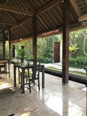 The main areas of The Amala in Seminyak, Bali