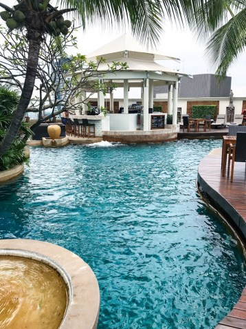 Rooftop pool at The Intercontinental Bangkok