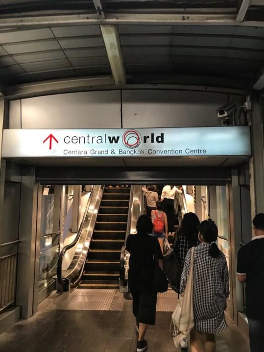CentralWorld in Bangkok Thailand