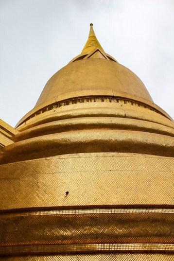 Monuments at the Grand Palace in Bangkok Thailand
