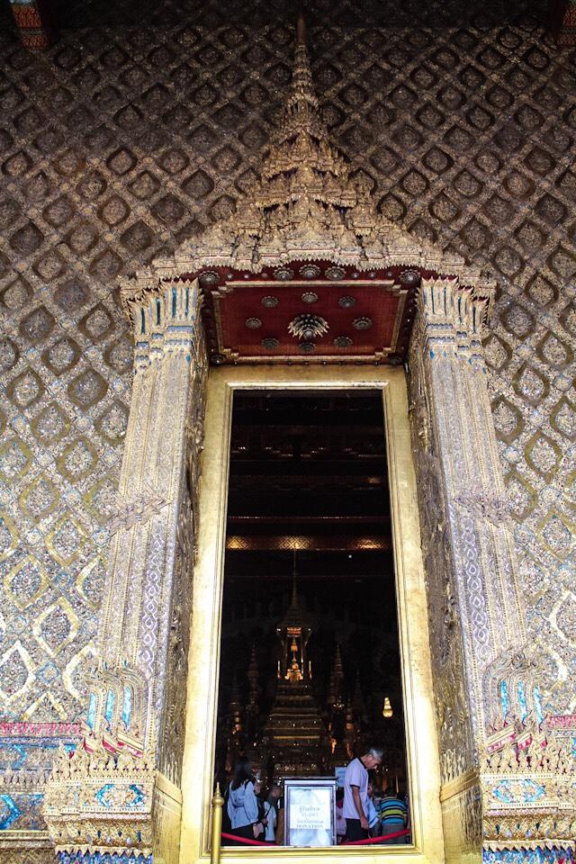 Phra Kaew Morakot or Emerald Buddha in Bangkok Thailand