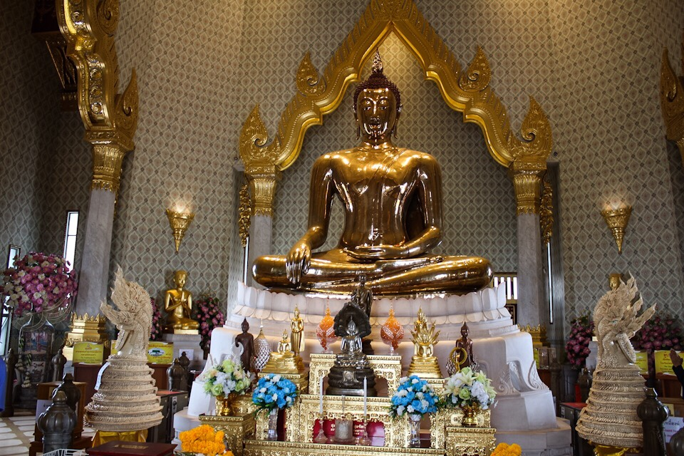 Temple of the Golden Buddha Bangkok Thailand