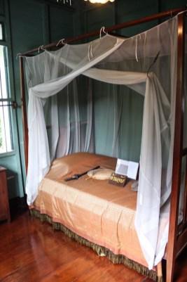 Items inside the house at the Bangkokian Museum in Bangkok Thailand