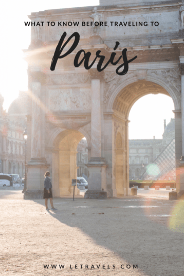 What to know before traveling to Paris | #paris #france #paristravel #travelguide