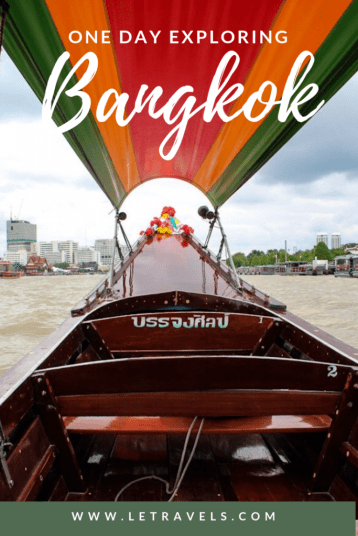 Bangkok in One Day | Exploring Bangkok in a single day is difficult, but not impossible. This is how to do it right! | #bangkok #thailand #travelguide #traveltips