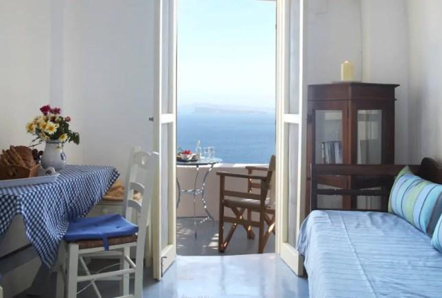 Pano Meria Studio 3 - Santorini Airbnb