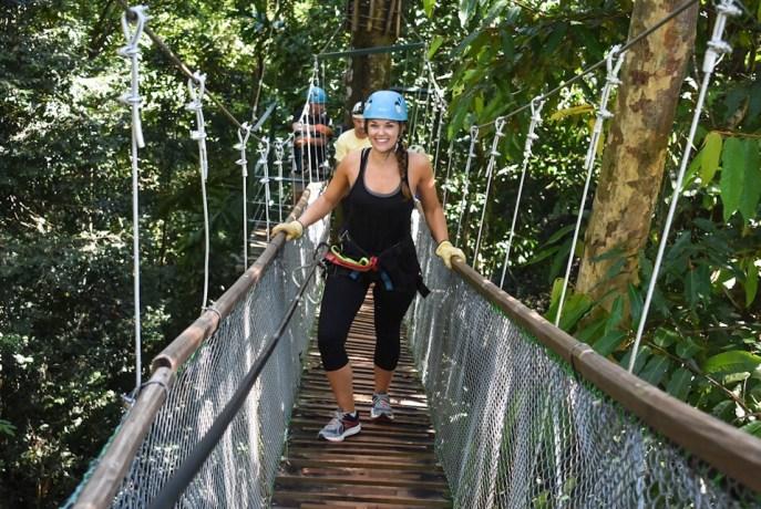 Lauryn at El Santuario in Manuel Antonio Costa Rica