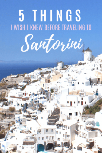 Santorini, Greece | Everything I wish someone had told me before I went to Santorini | #Santorini #Greece #Travel #Santorinitravelguide #travelguide #greekislands