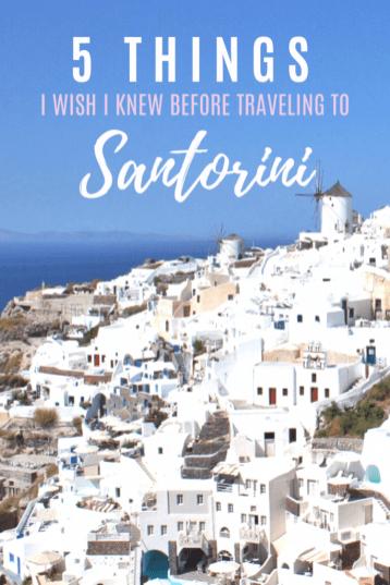 Santorini, Greece | Everything I wish someone had told me before I went to Santorini | #Santorini #Greece #Travel #Santorinitravelguide #travelguide #greekislands