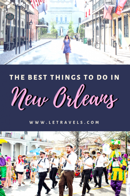 New Orleans Travel Guide | The Best Things to do in New Orleans #neworleans #bachelorette #louisiana #travel