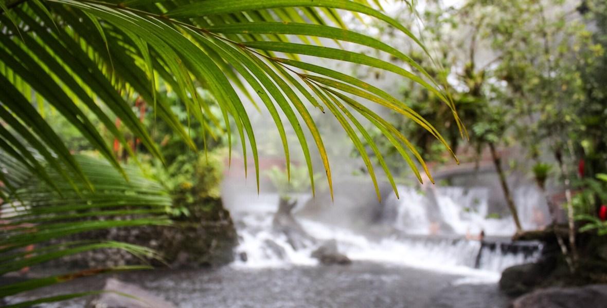 Tabacon Hot Springs Resort in La Fortuna Costa Rica