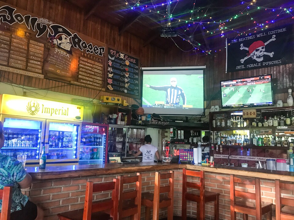 Bar Jolly Roger in Manuel Antonio Costa Rica