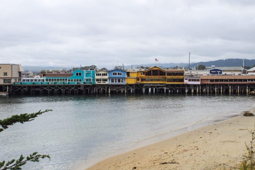 Fisherman's Wharf in Monterey California