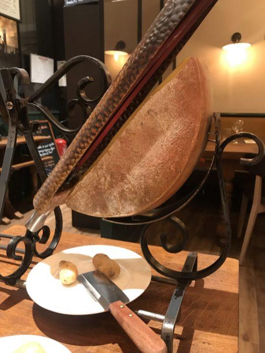 Raclette in Strasbourg
