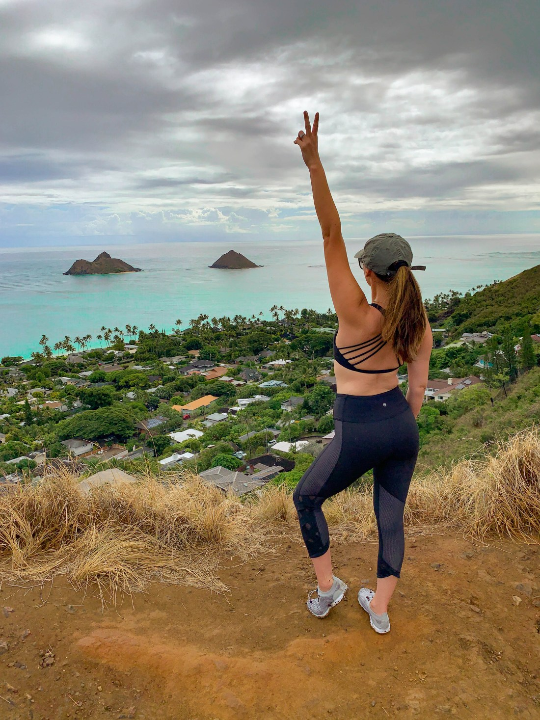 Lanikai pillbox hike oahu hawaii