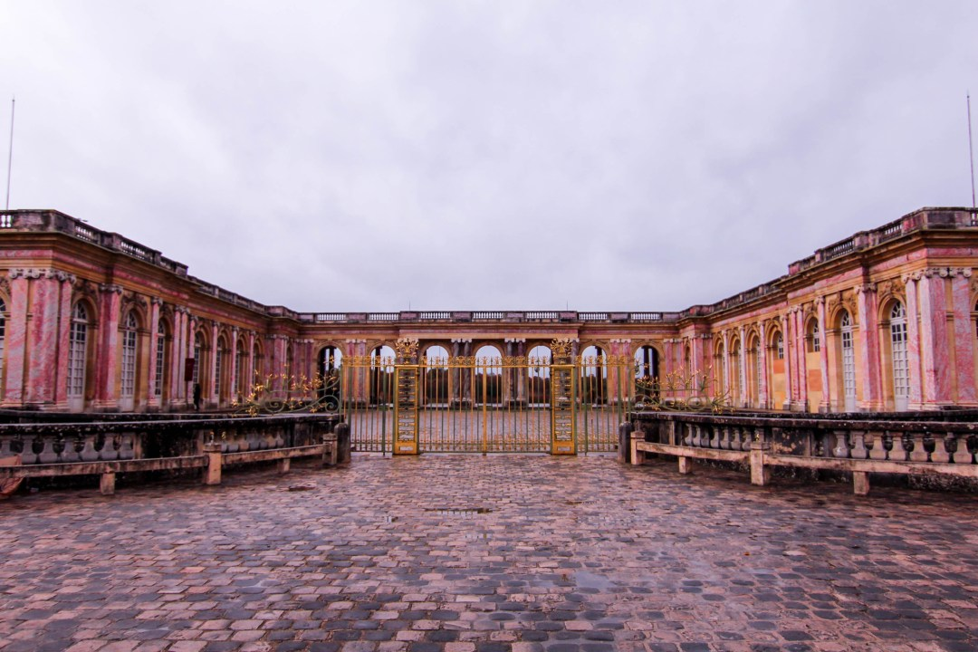 the grand trianon palace of Versailles