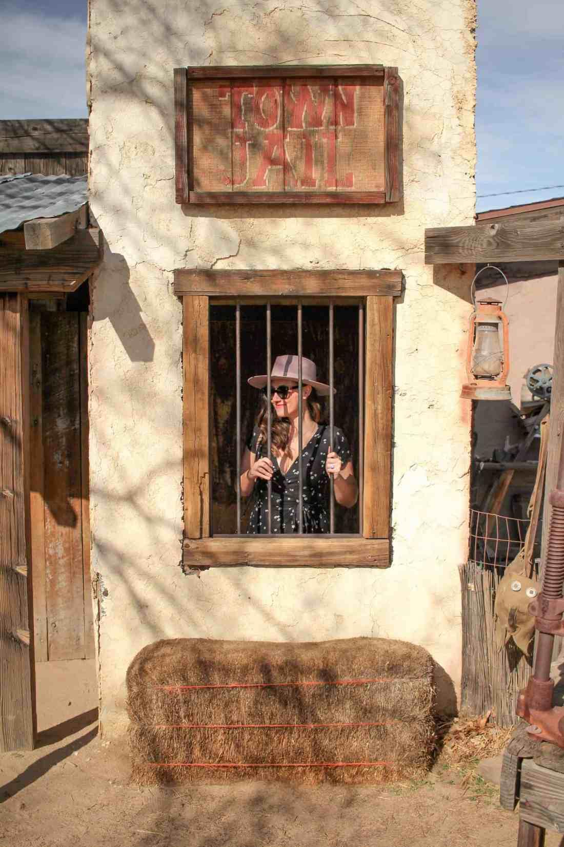 town jail pioneertown california
