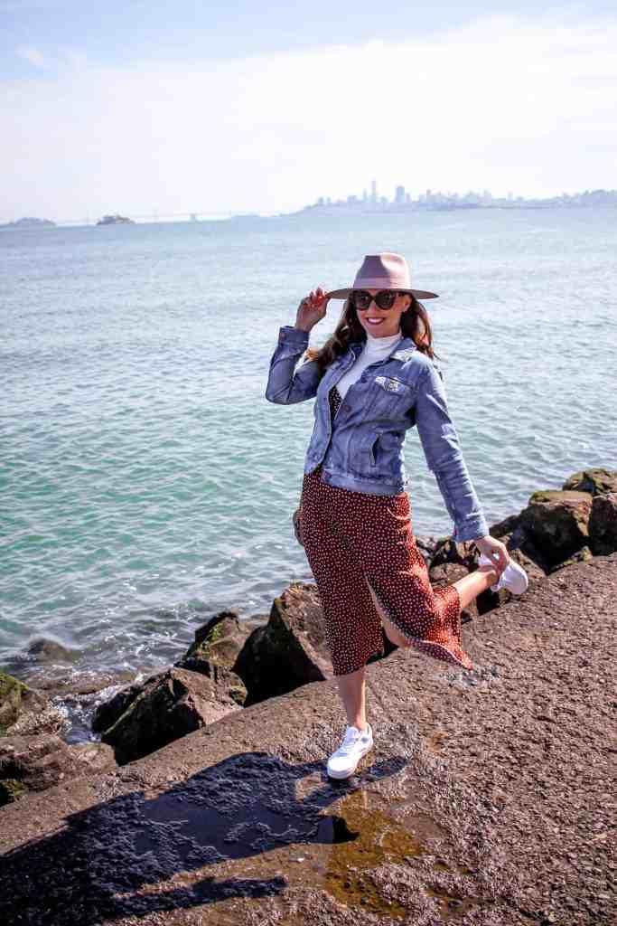 girl in sausalito california