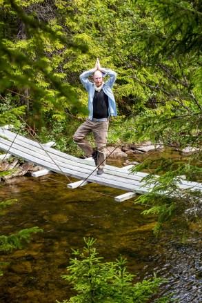 Hängbron över Henån
